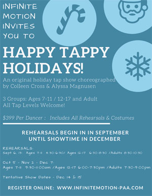Happy Tappy Holidays